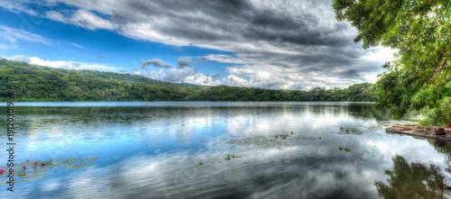 Fotografie, Tablou  Die Laguna Encantada in der Mähe von Catemaco