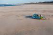 Board of windsurf on a beach