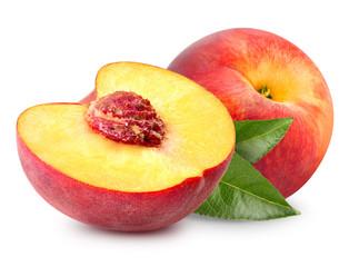 Kromka owoców brzoskwini