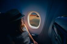 Young Asian Woman Traveler Loo...
