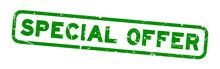 Grunge Green Special Offer Squ...