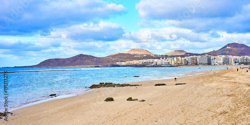 Photo sur Aluminium Iles Canaries Beach of