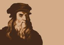 De Vinci - Peintre - Portrait - Ingénieur - Personnage Historique - Astronome - La Joconde