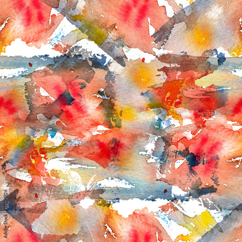 Naklejki na meble z bezszwowym kolorowym wzorem