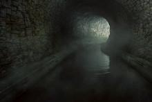 Alter Abwassertunnel (3D Rendering)