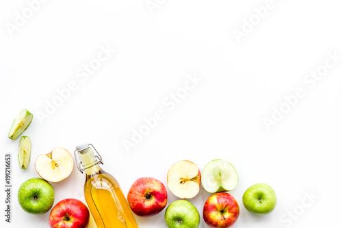 Fotografía Homemade cider from ripe apples