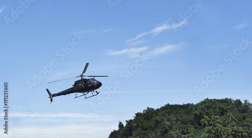 Türaufkleber Hubschrauber helicóptero