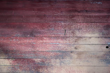 Red Rustic Old Barn Wood Background