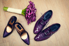 Lacquered Purple Shoes Of The ...