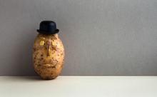 Senor Potato Bowler Hat Seriou...