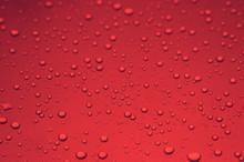 Rain Drops Color Background