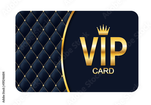 Photographie  Luxury Members, Gift Card Template for your Business Vector Illustration