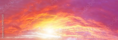 Obraz Bright sunny sky - fototapety do salonu
