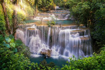 Obraz na SzkleHuay mae khamin waterfall