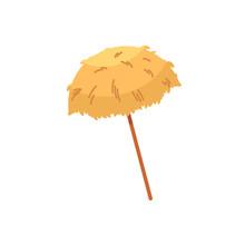 Hawaiian Thatch Tiki Umbrella,...