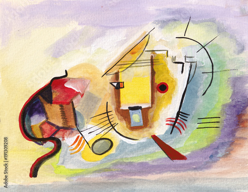On Kandinsky's motives