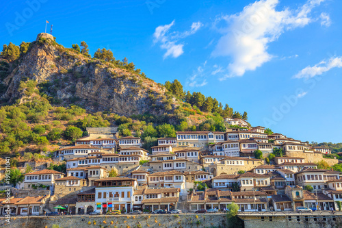 Berat, Albanie Fototapet