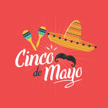 Cinco De Mayo Poster Background