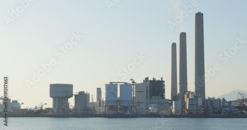 Poster Madrid Power station in Lamma island at Hong Kong