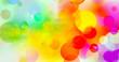 canvas print picture - aquarell farben textur verlauf bunt