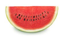 Slice Of Tasty Watermelon On A...