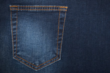 Part Of Women's Jeans With A B...