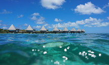 Overwater Bungalows In The Lag...