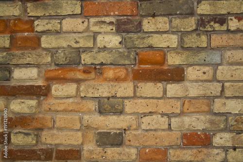 In de dag Stenen brick wall as background