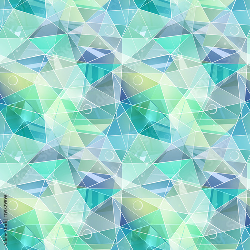 bezszwowe-streszczenie-wielokatne-wzor-geometryczny-turkusowe-szare-zielone-trojkaty