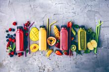 Smoothie (Obst Gemüse Getränk)
