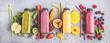 canvas print picture - Smoothie (Obst Gemüse Getränk)