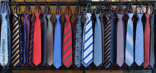 Fotografie, Obraz  Ties for sale in Seoul