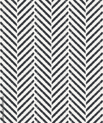 stripes hand drawn seamless vector pattern - 191341296