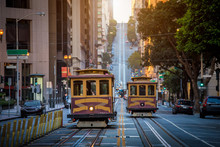San Francisco Cable Cars On Ca...