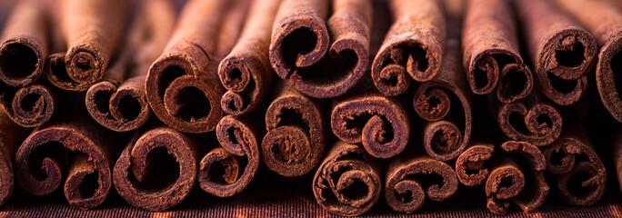 cinnamon sticks, banner