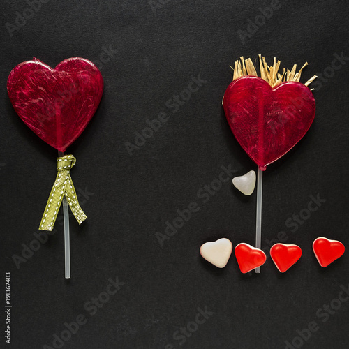 Fotografie, Obraz  Storia di un amore