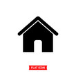 Home vector icon , House symbol
