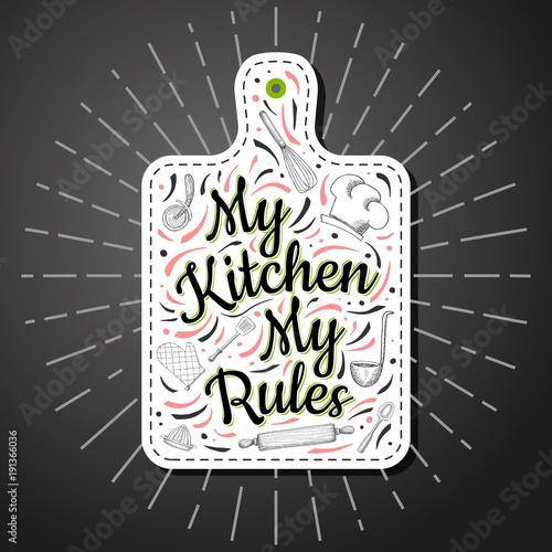 Fotografía Food Poster Print Lettering