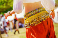 Belly Dancer Wearing Typical A...