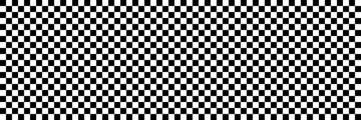 Panel Szklany Podświetlane Czarno-Biały horizontal black and white checked sport or racing flag for background and design