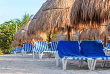 View Of A Tropical Sandy Beach...