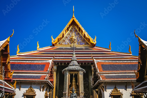 Foto op Aluminium Temple Buddhist Temple inside the Grand Palace complex in Bangkok