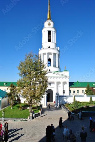 Photo  Russia, Zadonsk, August 25, 2017, monastery for Men