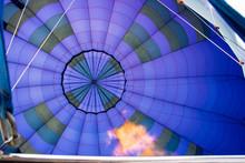 Hot Air Balloon In Winter, Pre...