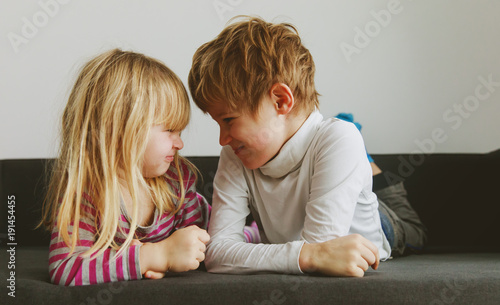 brother and sister rivalry, dispute, anger, disagreement