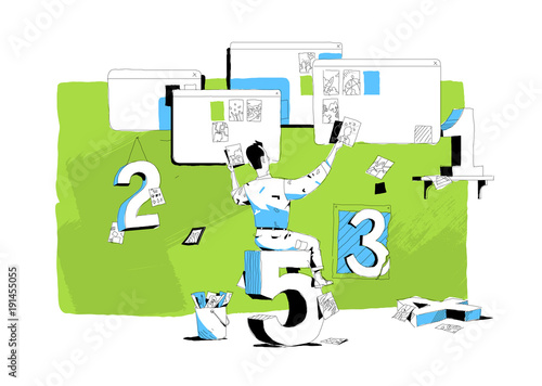 Vászonkép 5 regole per pubblicare immagini online