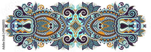 Ingelijste posters Boho Stijl indian ethnic floral paisley pattern