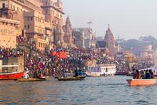 Varanasi Ghats, Diwali Festiva...