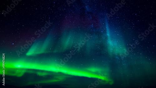 Keuken foto achterwand Antarctica Aurora Australis