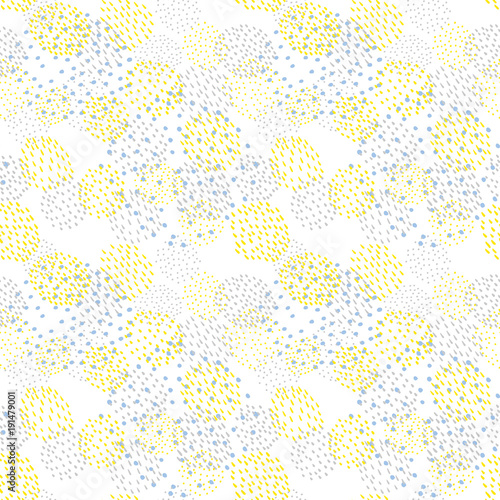 mata magnetyczna Abstract background. Seamless pattern.Vector. 抽象的なパターン